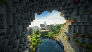 cave minecraft wallpaper - Making Money From Game Servers