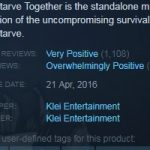 dst reviews - Don't Starve Together