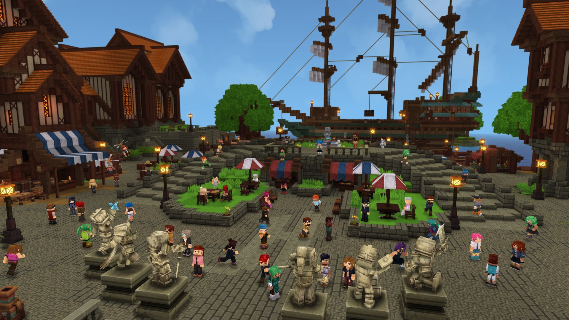 hytale town center - Hytale